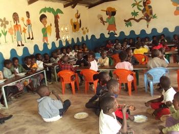 Schoolgebouw Makululu